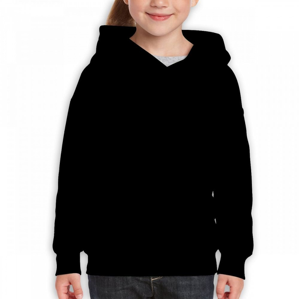 Vintopia Teen Girls Fashion Travel Black Hoody S