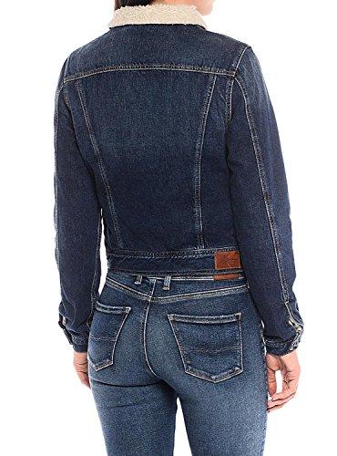 Jeans Pepe Cazadora Core DLX Blanco B6Ud46W