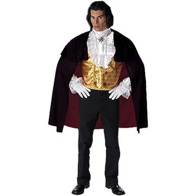 Amazon.com: Vampiro gótico traje de adultos (Tamaño ...
