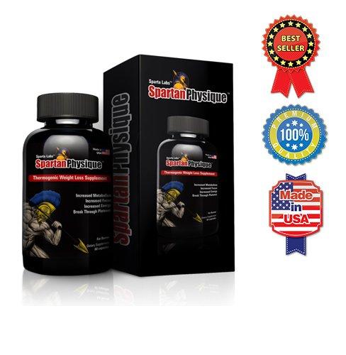 Spartan Physique: Thermogenic suppléments Gestion de poids pour les hommes et les femmes - meilleures pilules de régime qui fonctionnent - Fat Burner avec Yohimbe, cétones de framboise, théobromine, phényléthylamine, Camellia Sinensis, Et L-Tyrosine pour