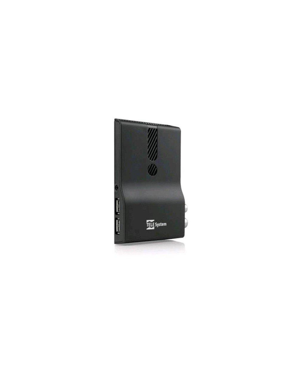 TELESYSTEM Ricevitore Digitale Terrestre HD DVBT//T2 Supporto HEVC