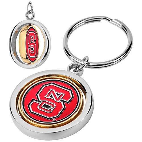 NCAA North Carolina State Wolfpack - Spinner Key Chain ()