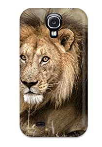 Galaxy S4 Case Bumper PC Skin Cover For Lion Picture Accessories