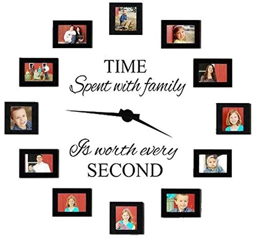 Family Decals Clock Sticker Time Second Stickers product image
