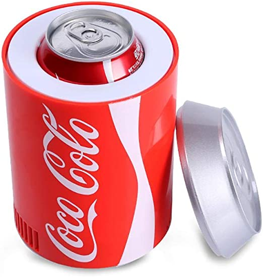 HEIRAO Refrigerador portátil del Coche de la Oficina de Las latas ...
