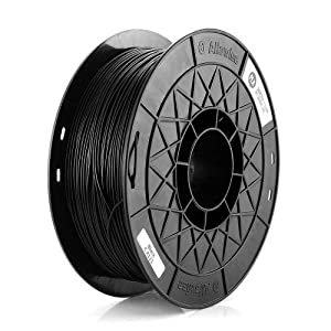 1kg(2.2lbs) spool 3d printer pla filament 1.75mm black marketbot reprap