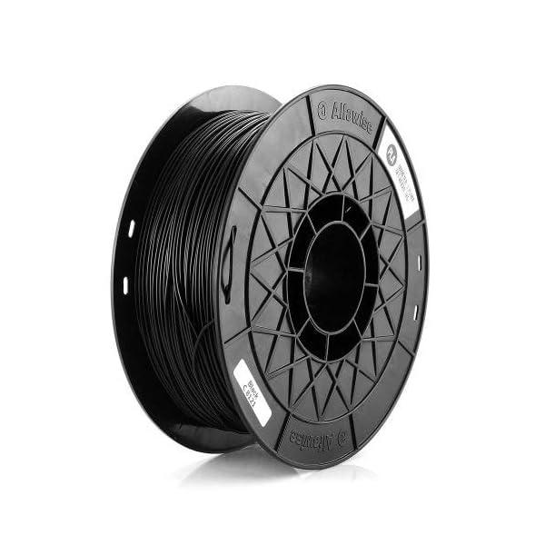 1kg(2.2lbs) spool 3d printer pla filament 1.75mm black marketbot reprap