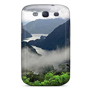 Awesome Clouds In A Fjord Flip Case With Fashion Design For Galaxy S3