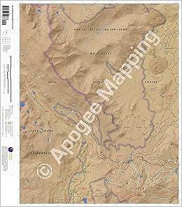 Mammoth Mountain California Map.Mammoth Mountain California 7 5 Minute Topographic Map Waterproof