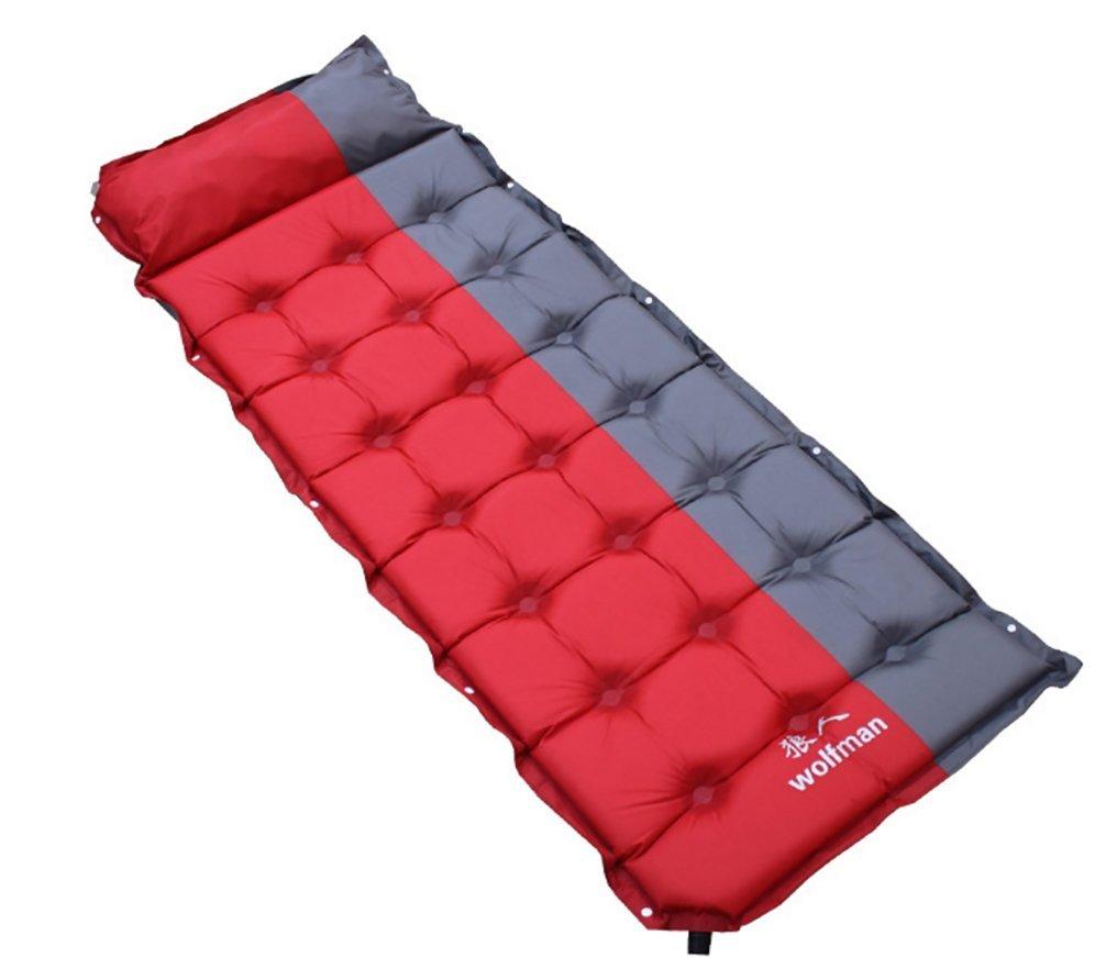 Aoyina 5CM automatische aufblasbare Isomatte erweitert verdichtetes Zelt Schlafen luft Bett für kampierendes im Freien mit Kissen