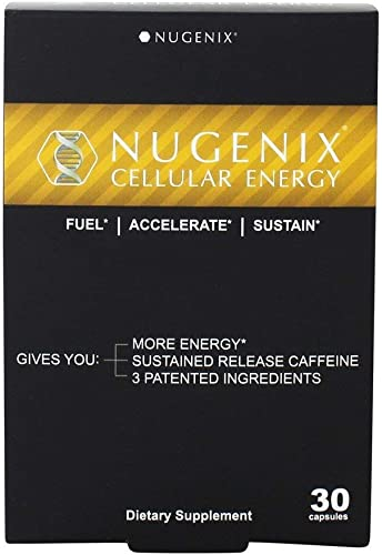 Nugenix Cellular Energy – More Energy, Muscle Support – L-Carnitine and L-Tartrate, elevATP, Green Tea Extract, Extended Release Caffeine, L-Tyrosine