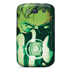 Shock-Absorbing Hard Phone Cases For Samsung Galaxy S3 With Custom High-definition Green Lantern I4 Series LauraAdamicska