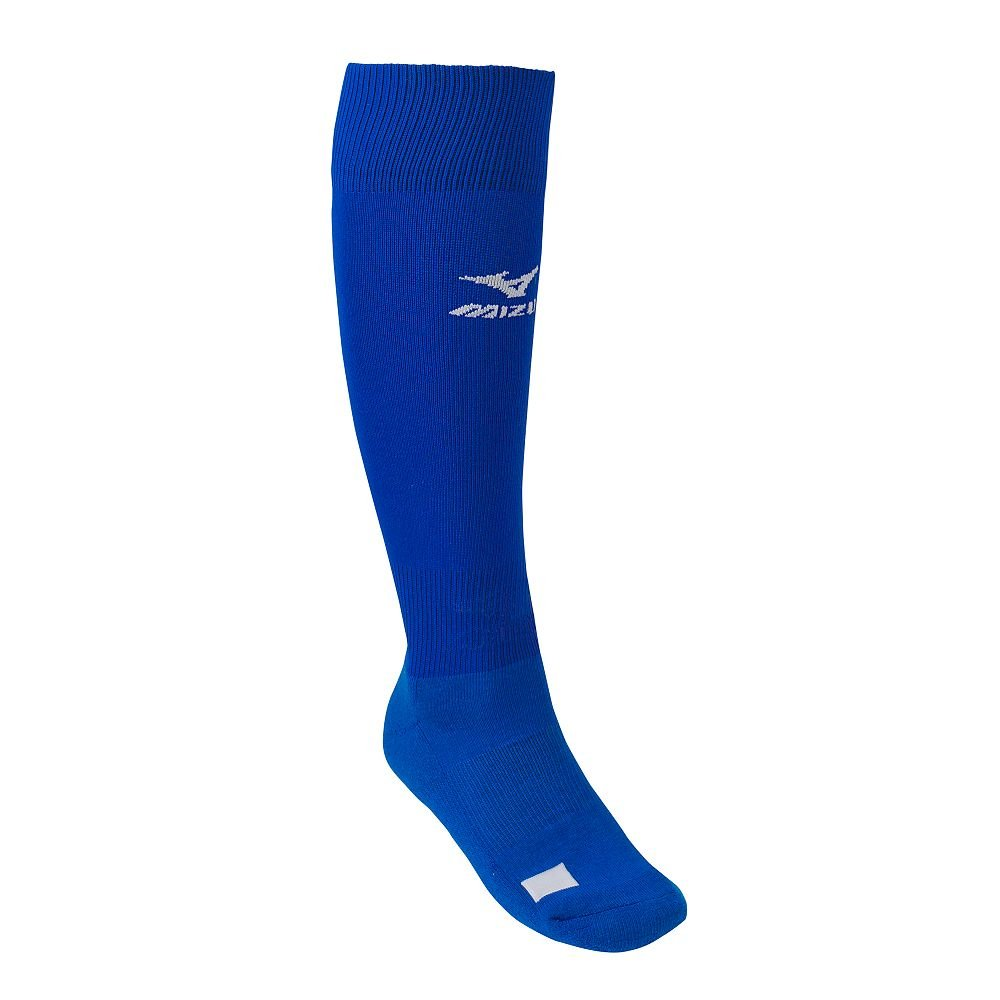 Royal Blue Adult Mizuno Performance Athletic Socks (All Sports: Baseball, Softball, Football, Soccer, Volleyball, Lacrosse)