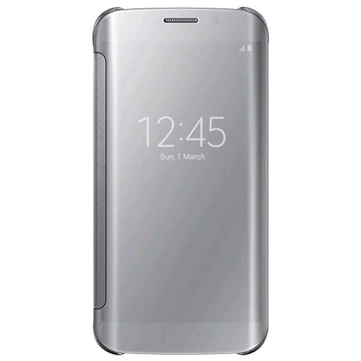 140 opinioni per Samsung Custodia S View per Galaxy S6, Argento