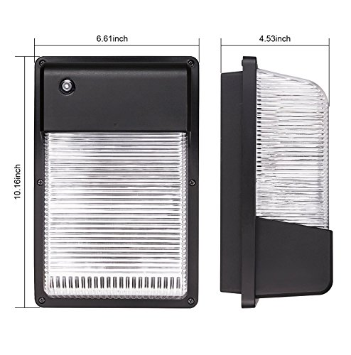 25w Dusk To Dawn Led Wall Pack Photocell Outdoor Led Wall