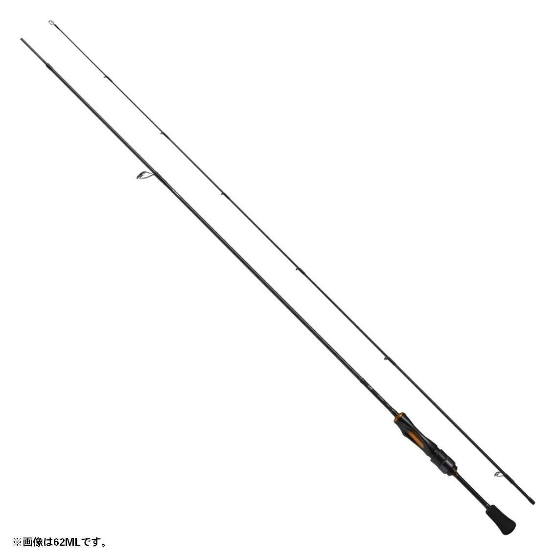 ダイワ(Daiwa) トラウトロッド スピニング イプリミ 62L 釣り竿