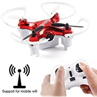 Dazhong 2.4GHz 4CH 6 Axis Gyro Mini RC Quadcopter Helicopter Headless Mode One Key Return 0.3MP Camera