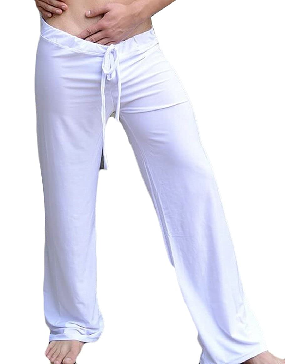 ouxiuli Men's Yoga Pants Lounge Trousers Workout Long Pant