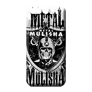 iphone 6plus 6p Style cell phone carrying shells Skin Cases Covers For phone Eco Package metal mulisha