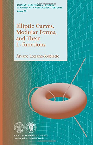 Read Online Elliptic Curves, Modular Forms, and Their L-functions (Student Mathematical Library) pdf