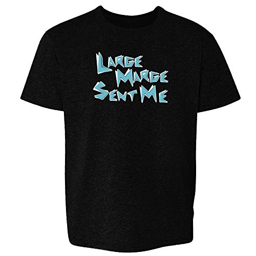 Pop Threads Large Marge Sent Me Funny Black 5 Toddler Short Sleeve Kids T-Shirt Baby/Toddler/Little Kid