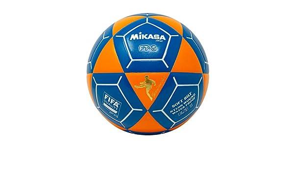 Mikasa FT5 Goal Master - Balón de fútbol, Color Naranja y Azul ...