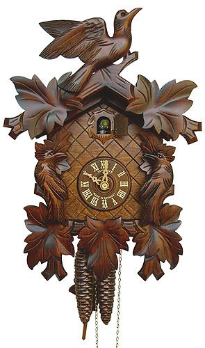 8-Day Black Forest Cuckoo Clock