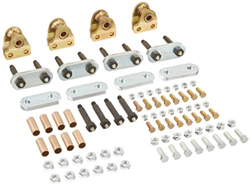 MORryde LRE12-001 Heavy Duty Shackle Upgrade Kit - Tandem (Shackle Bolts)