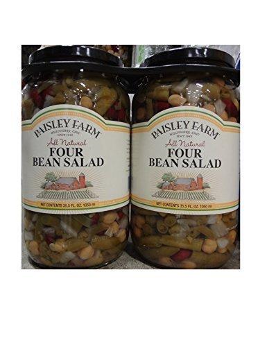 Paisley Farm 2- 35.5 Oz Natural Four Bean Salad, 71 Oz by Paisley Farm
