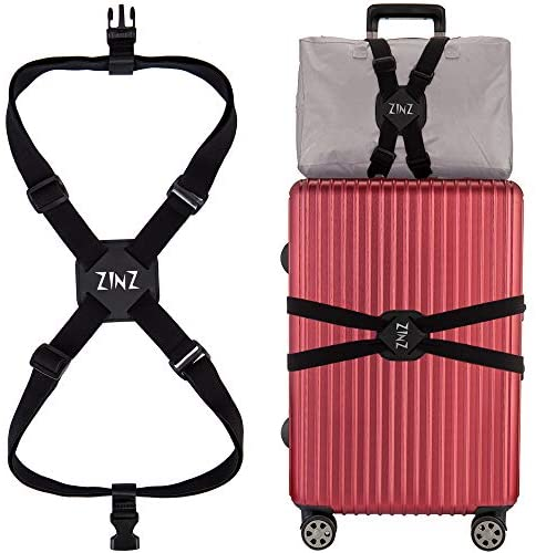 Luggage Suitcase Adjustable Applications Black 001 product image