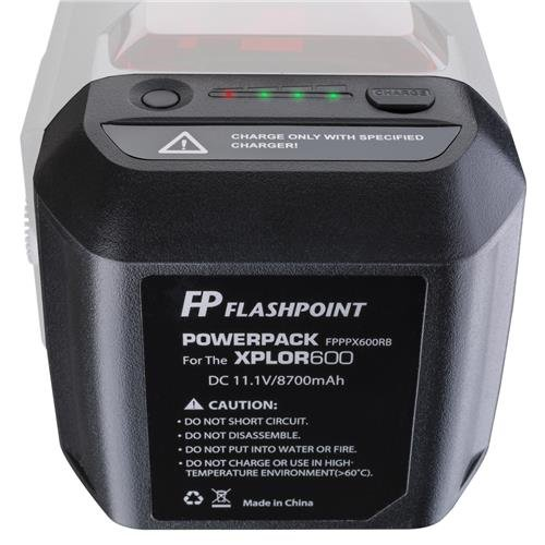 Flashpoint Battery Power Pack Unit for The XPLOR 600 Series Monolight (WB87) by Flashpoint