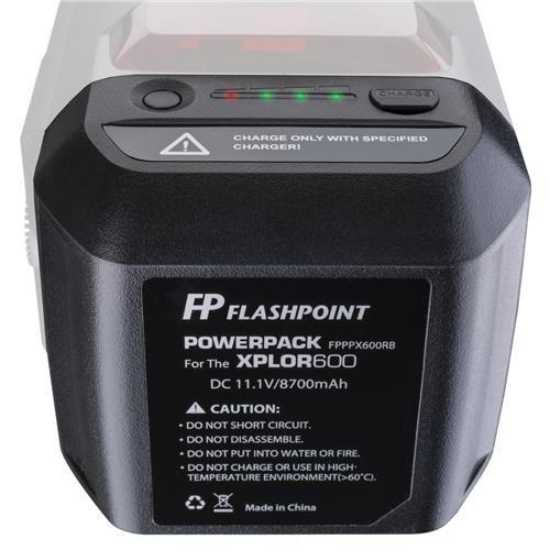 Flashpoint Battery Power Pack Unit for The XPLOR 600 Series Monolight ()