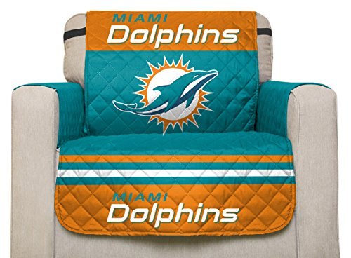 Beau Whether You Are Protecting New Furniture Or Covering Old, The Chair  Licensed Furniture Protector By. Pegasus Sports NFL Miami Dolphins ...