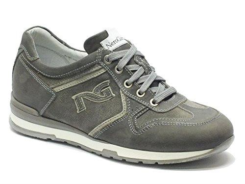 Noir Camo Nubuck Gris Neopolis Homme Chaussure Grigio Gris jardin IzpxP4w0