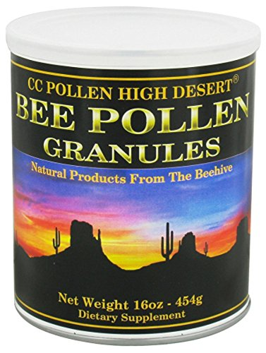 - C C Pollen Bee Pollen Granules packed in a tin -- 1 lbs