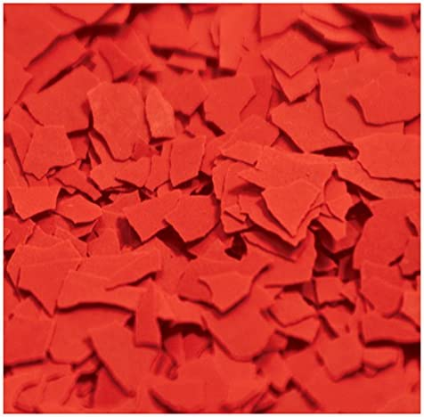 1 4 Chipflakes Epoxy Paint Chips 1lb Red Amazon Com