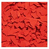 1/4'' Chipflakes Epoxy Paint Chips (1lb, Red)