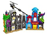Fisher-Price SuperHero FLIGHT CITY PLAYSET, DC Super Friends Kids IMAGINEXT TOYS ^G#fbhre-h4 8rdsf-tg1305736
