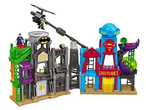 Fisher-Price SuperHero FLIGHT CITY PLAYSET, DC Super Friends Kids IMAGINEXT TOYS ^G#fbhre-h4 8rdsf-tg1305736 by Fotelilona