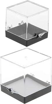Plüschfigur Klare Vitrine Schaukasten Ausstellung Box für Anime-Figuren Modell