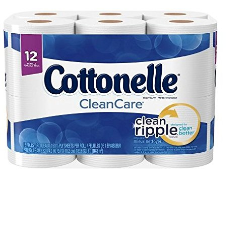 Cottonelle Clean Care Big Roll Toilet Paper 12 Count