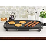 Mojo Kitchen N Bar Mainstays Die Cast Aluminum Bakeware Grill Plate Griddle with Adjustable Thermostat