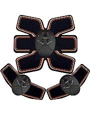 EGEYI EMS Stimolatore Muscolare, Addominale Tonificante Cintura ABS, Trainer Wireless Portatile per Addome/Braccio/Gamba per Uomo o Donna