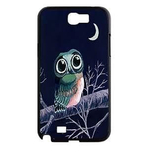 Smart Owl Case Cover Best For Samsung Galaxy Note 2 Case KHR-U540610