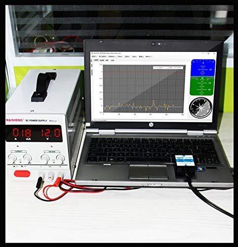 HWT901B RS485 Grado militare 10 assi RM3100 magnetico di compensazione sensore 3 assi angolo digitale angolo inclinometro accelerometro giroscopio bussola barometro supporto PC//Arduino per lindustria