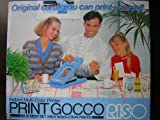 Print Gocco B6 Hi Mesh Set Instant Multi-Color Printer w/ High Resolution Prints by Riso Kagaku Corporation