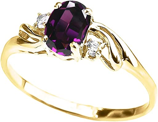Handcrafted Unique Jewelry Prong Setting Amethyst Jewelry 925 Solid Silver Modern Jewelry Oval Shape Green Amethyst Ring Sz 9.25
