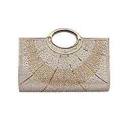 Rhinestone Studded Clutch Purses