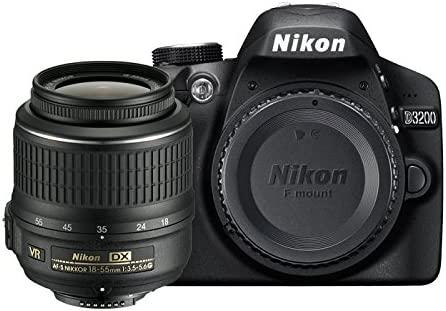 Nikon 999D3200N8 - Cámara réflex digital Nikon D3200 + Objetivo ...