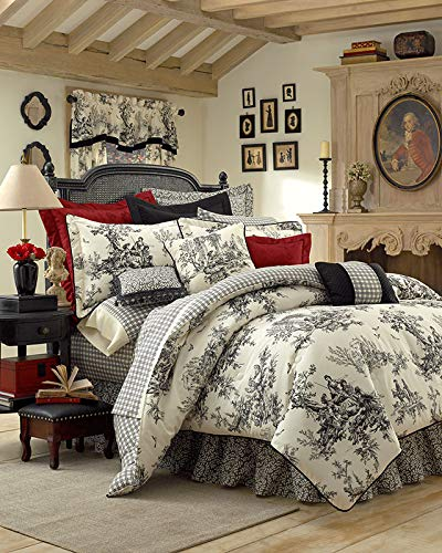 (Thomasville Bouvier 4-Piece Comforter Set, Queen)